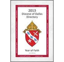 Buy the 2013 Diocese of Dallas Directory