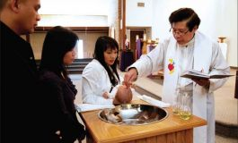 Bishop Douglas Deshotel: Baptism is the sacrament of a new life