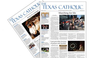 At His Service. The Texas Catholic.