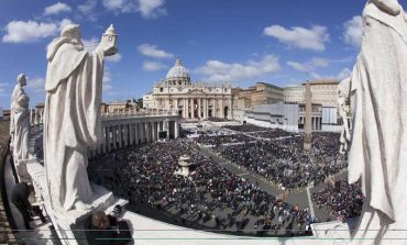 Pope pledges to protect church, human dignity