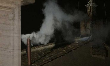White smoke: Cardinals elect new pope