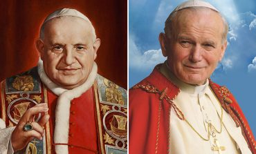 Rome readies for canonization of two popes