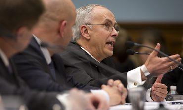 Bishop says violence cause of surge at border