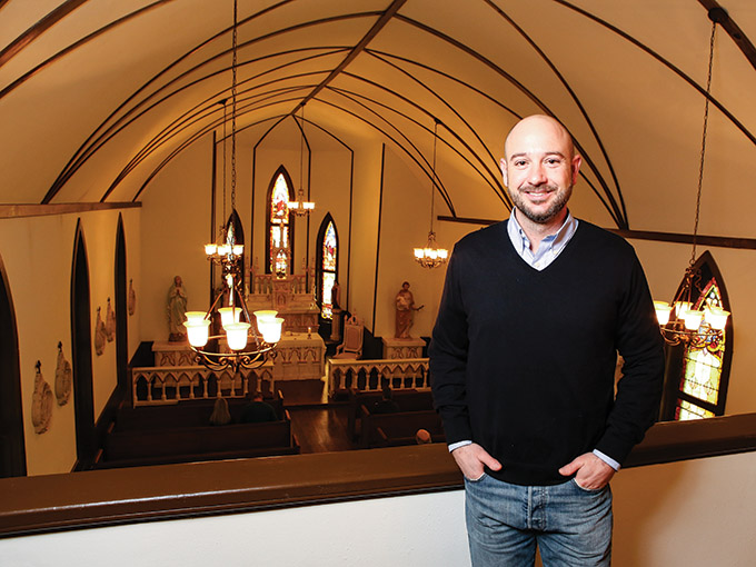 Justin Fivecoat, a parishioner at St. John The Apostle Catholic Church in Terrell, is one of the honorees who will be recognized Feb. 7 during a Mass for the annual Bishop's Awards for Service to the Church. (DON JOHNSON/Special Contributor)