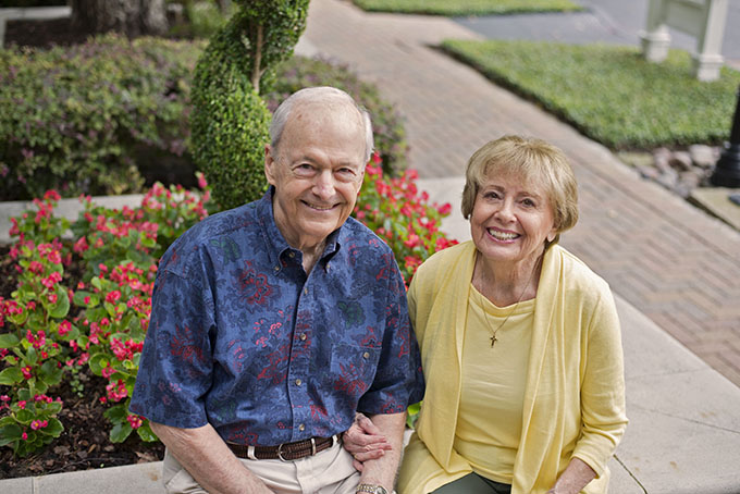 Donald and Theresa Bohrer will celebrate more than 50 years of marriage Aug. 29 at the annual Diocesan Silver and Gold Anniversary Mass at the Cathedral Shrine of the Virgin of Guadalupe. (JENNA TETER/The Texas Catholic)