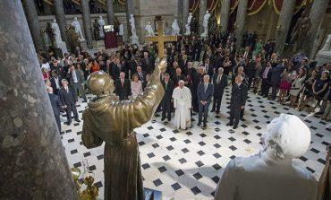 The canonization of St. Junipero Serra