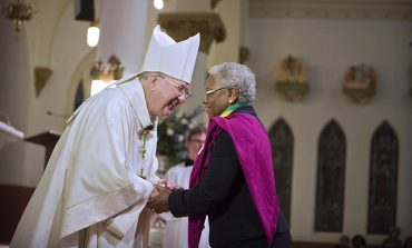 Bishop honors volunteers for service to the church