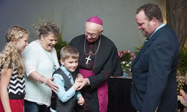Family, community help shape future bishop