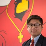 John Paul II High School graduate Khoa Nguyen amassed more than 850 hours of Christian service while he was enrolled as a student at the Plano school. (ZACHARY HARRIS/Special Contributor)