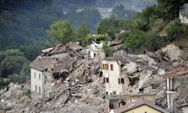 Pope leads pilgrims praying rosary for quake victims