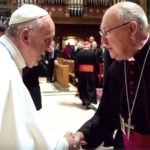 Pope Francis with Bishop Kevin J. Farrell