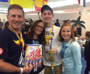 Kocian takes home silver in uneven bars