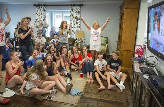 Faith, family and friends motivate local Olympian