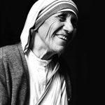 St. Teresa of Kolkata pictured during the opening of a Missionaries of Charity convent in Detroit in 1979. (CNS photo/Dwight Cendrowski) See MOTHER-TERESA-EVENTS Aug. 5, 2016.