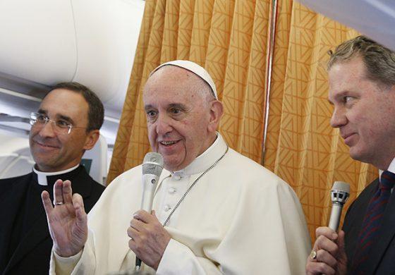 Pope: Catholic Church never likely to ordain women