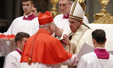 Pope calls new cardinals to be agents of unity