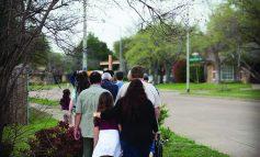 Parish's Rosary Walk takes faith to the streets