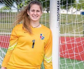 Sophomore's talents find home on international stage