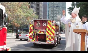 Giving thanks to first responders