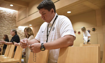 Month of the Rosary: Bishop Lynch High School