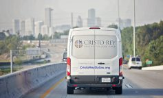 Cristo Rey Dallas treks to help counterparts in Houston