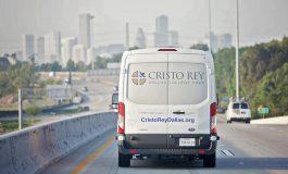Cristo Rey Dallas treks to help counterparts in Houston