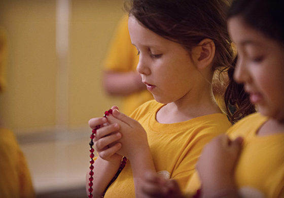 Month of the Rosary: Mount St. Michael Catholic School