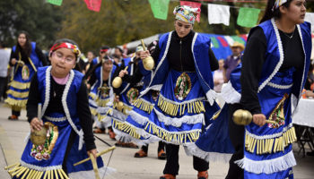 Dancing for Our Lady of Guadalupe