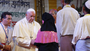 Defend God's image by defending the Rohingya, pope urges