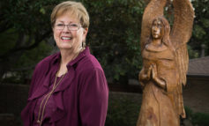 Angel sculpture honors memory of faith-filled man