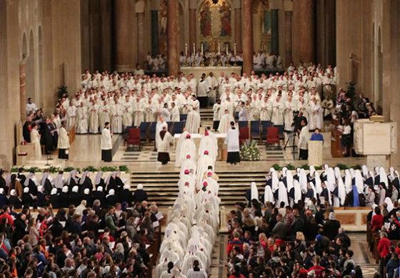 Cardinal invokes Rev. Martin Luther King Jr. in march vigil homily