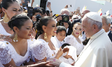 In Chile and Peru, pope tackles tough issues, urges compassion, unity