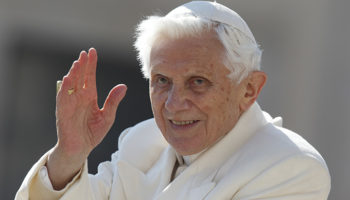 Retired pope celebrates 91st birthday