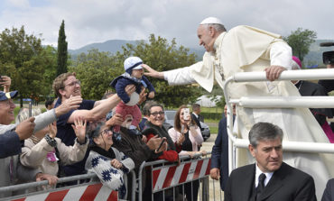 Be inspired by Mary, Christ's first lay disciple, pope tells laypeople