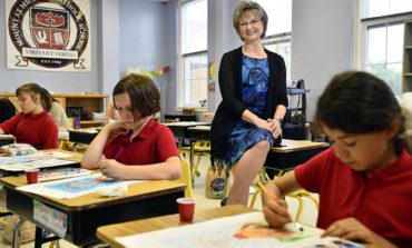Longtime educator, principal leaves her mark on school