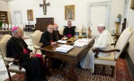 Pope OKs probe into US bishop as he meets with US delegation
