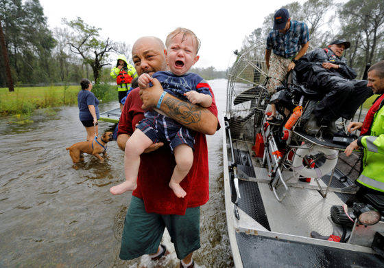 Catholic Charities distributes disaster relief to areas hit by Florence