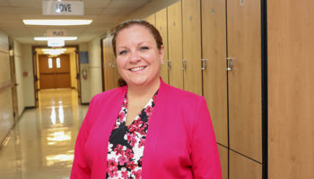 New principal looks to build upon school community
