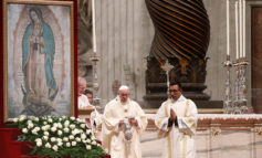 With a mother's heart, Mary raises up the abandoned, pope says at Mass