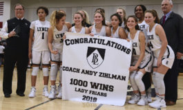 Lady Friars coach earns 1,000th career victory