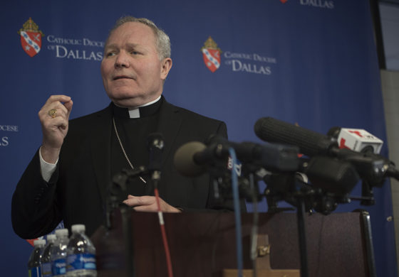 Dallas diocese names 31 clergy with 'credible allegations' of sexual abuse of minors