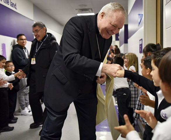 Bishop Burns: Catholic schools are a blessing for our future