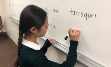 Eighth-grader keeps God first at spelling bees