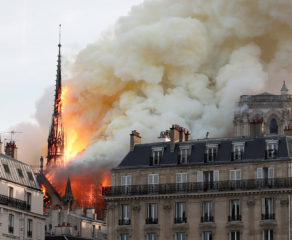 Fire out, treasures intact but work ahead for Notre Dame