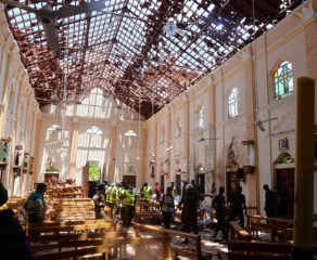 Bishop Burns calls for prayers for those affected by Easter terror attacks