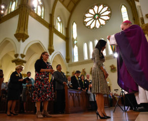 Bishop honors those who exemplify service to the church