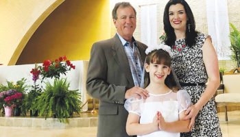 For family, parish and school part of faith journey