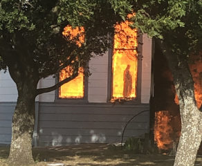 Fire destroys 'treasured' historic Catholic church in Texas