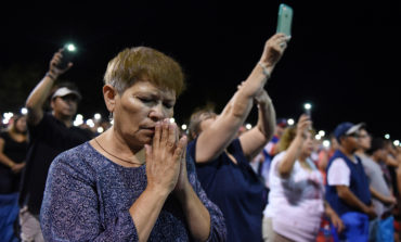 El Paso bishop meets with victims, family members of Texas mass shooting
