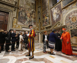 Friends, family, faithful celebrate new cardinals at Vatican reception